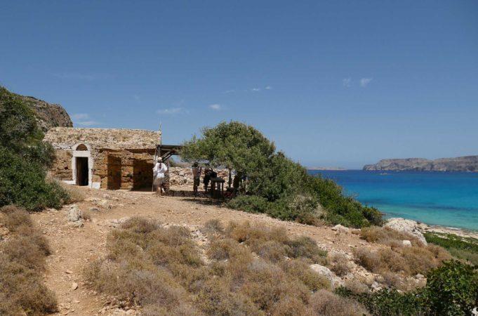 Kleine Kapelle aus Stein