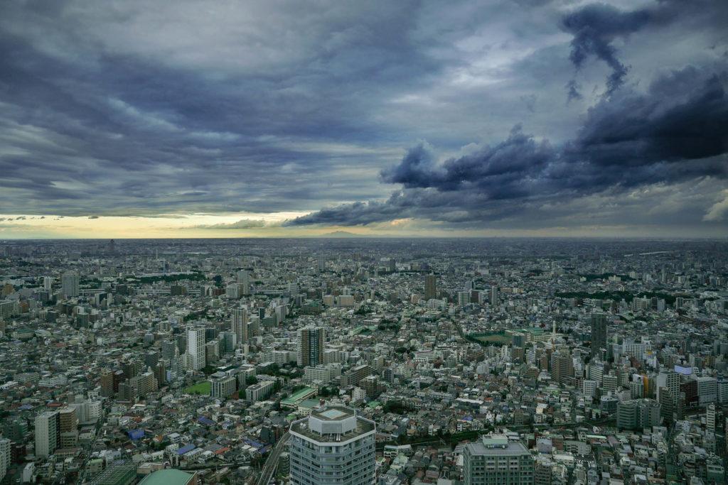 Panorama von Tokio vom Sky Circus in Ikebukuro