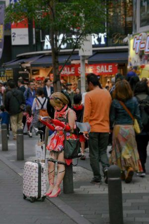 Cosplayerin in Tokio