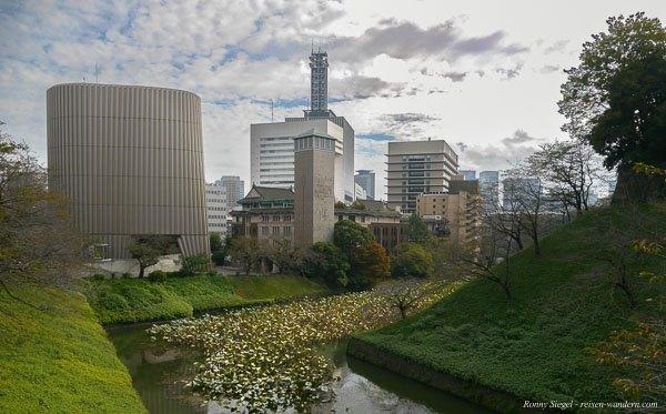 Foto: Gebäude aus Meiji Zeit am Kitanomaru Park