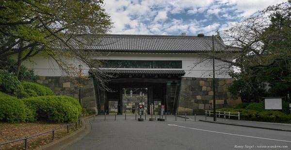 Foto: Tor aus der Edo Zeit im Kitanomaru Park