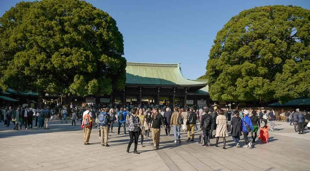 Meiji Schrein in Tokio