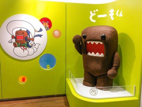 Maskottchen Domo von NHK