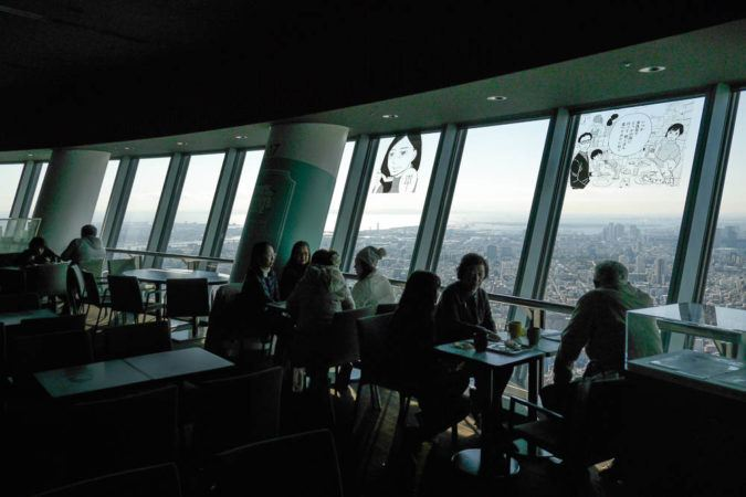 Cafe im Skytree