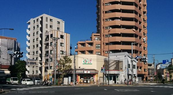 7 Eleven Store in Tokio
