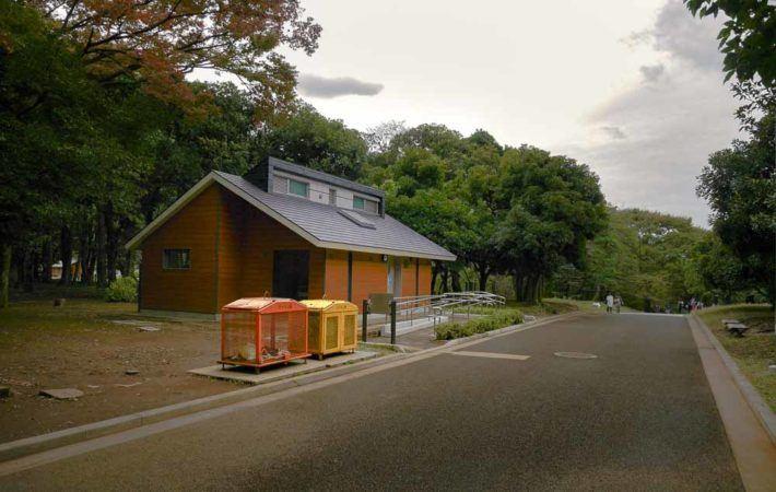 Öffentliche Toilette in Tokio
