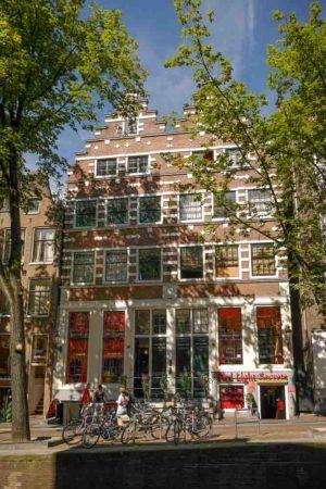 Bordell im Rotlichtviertel von Amsterdam