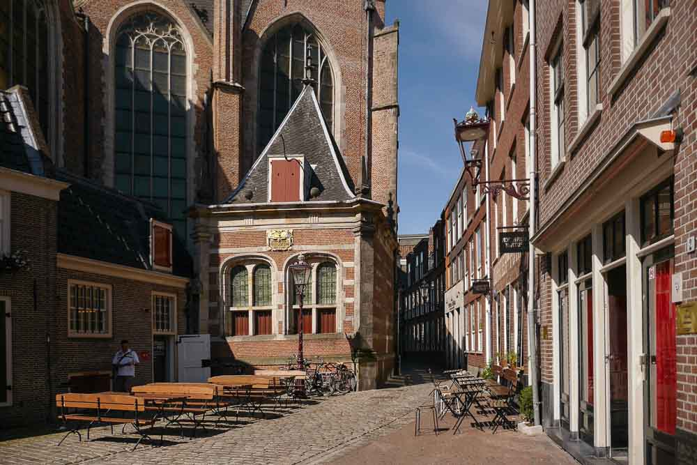 Bild: Bordelle an der De Oude Kerk Kirche in Amsterdam