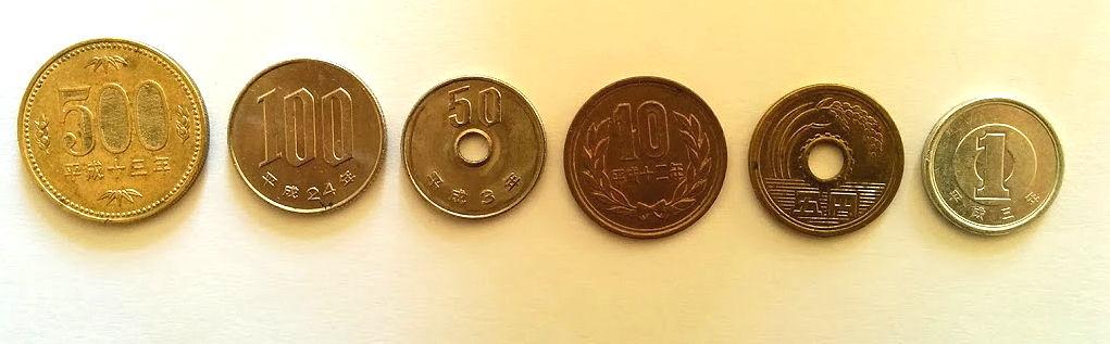Bild Kleingeld Hartgeld Münzen In Japan Alle Münzen