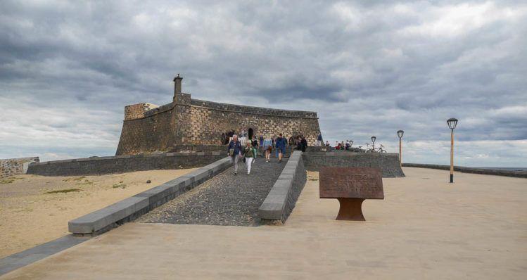 Castillo de San Gabriel auf Lanzarote