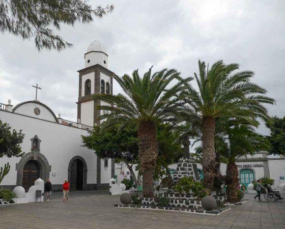 Iglesia de San Gines in Arrecife