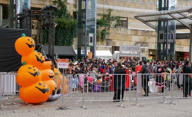 Halloweenevent bei den Roppongi Hills