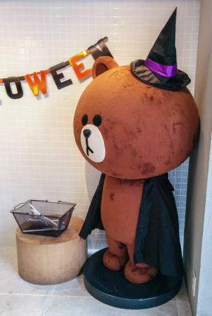 Rilakkuma im Halloweenkostüm