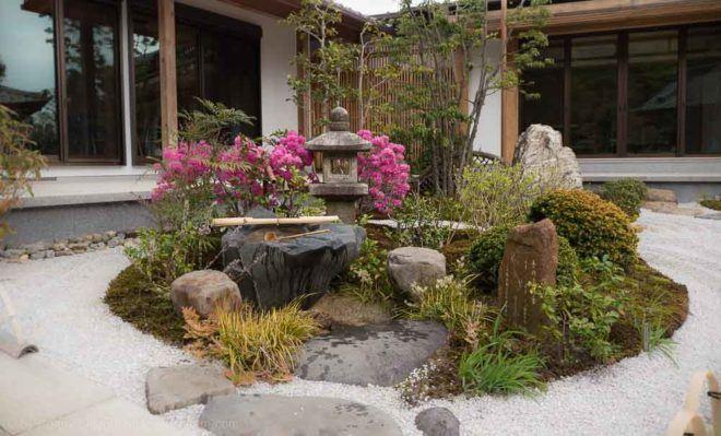 Steingarten im Hase-dera Tempel