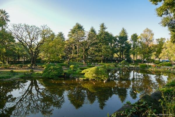 Shinji Teich im Hibiya Park