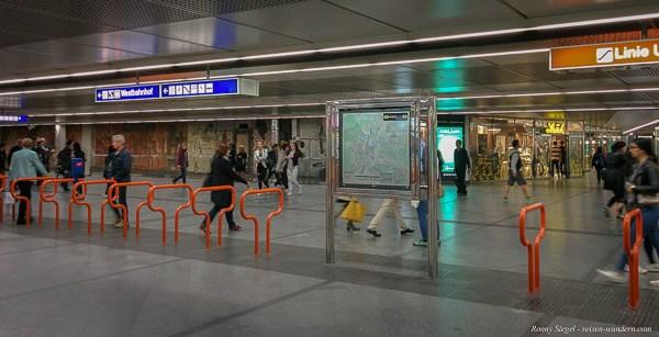 Foto: U-Bahn Station in Wien