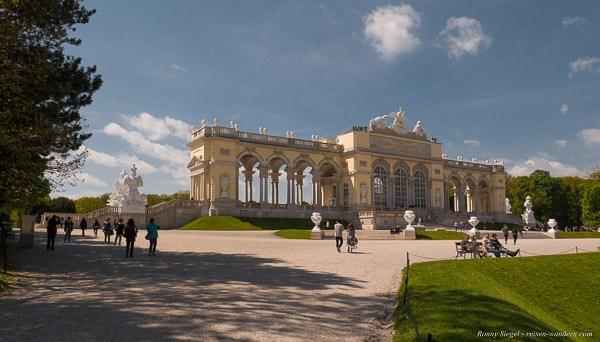 Bild: Gloriette im Schönbrunner Schlosspark