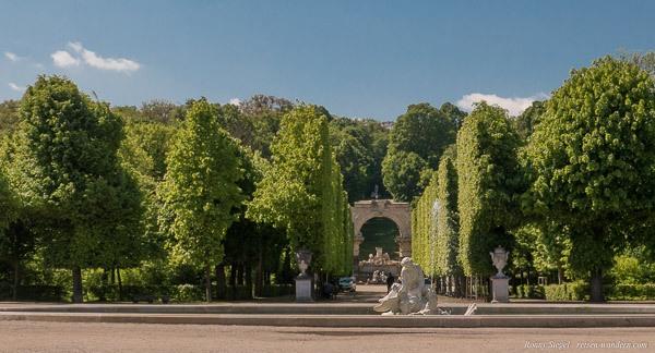 Bild: Römische Ruine im Schönbrunner Schlosspark