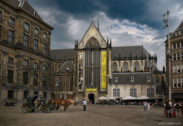 Bild: Nieuwe Kerk in Amsterdam