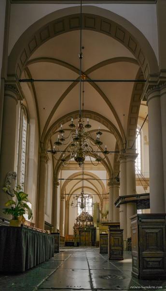 Bild: Seitengang in der Westerkerk