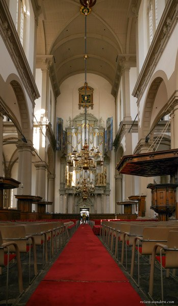 Bild: Hauptschiff in der Westerkerk