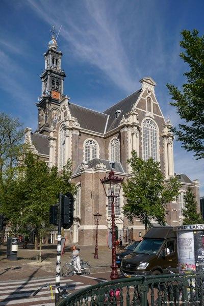 Bild: Westerkerk in Amsterdam mit Westertoren