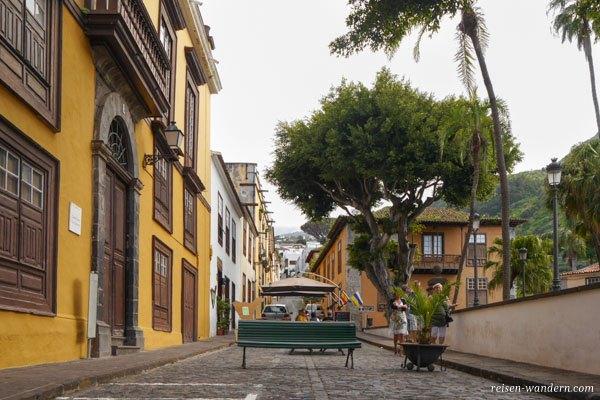 Fußgängerpassage in Icod de Los Vinos