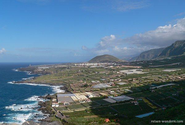 Blick auf Teneriffa im Norden der Insel