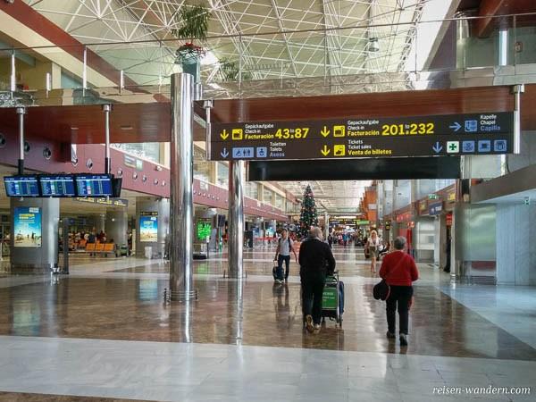 Flughafen Teneriffa Süd