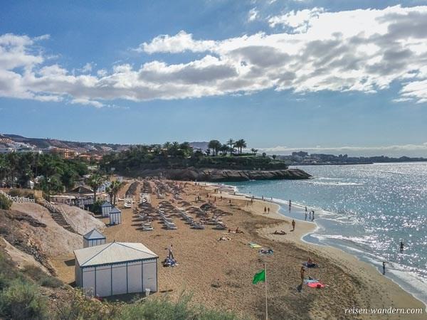 Strand in Costa Adeje auf Teneriffa