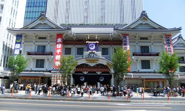 Kabukiza Theater in Ginza in Tokio