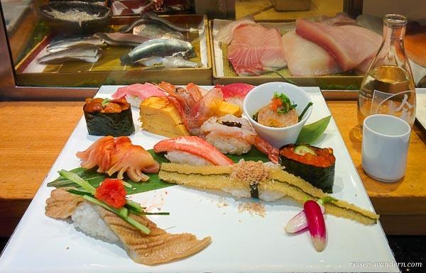 Sushi in Tokio