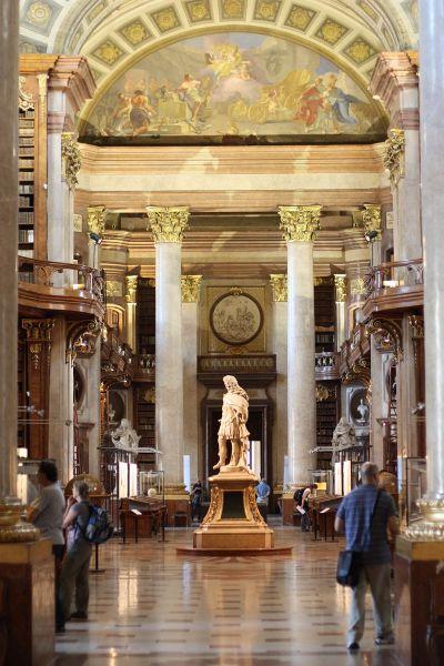 Österreichischen Nationalbibliothek in Wien