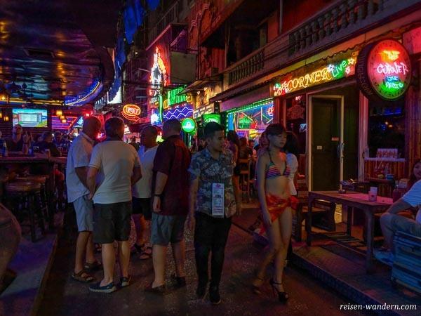 Rotlichtviertel Soy Cowboy in Bangkok