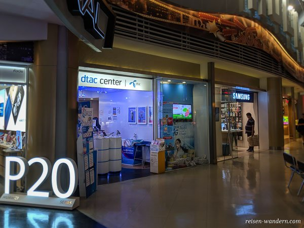 dtac center in Bangkok