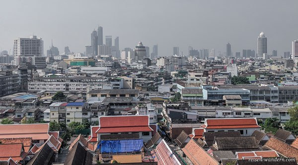 Bangkok Skyline am Tag
