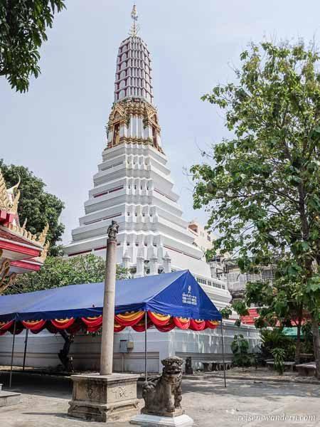 Tempel Wat Chakrawat in Bangkok