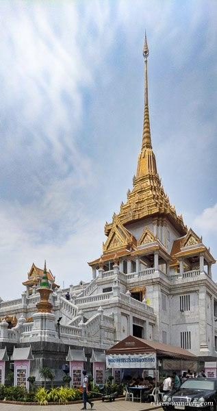 Wat Traimitr - Tempel des goldenen Buddha in Bangkok