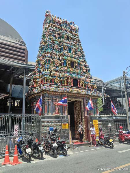 Sri Maha Mariamman Temple, ein Hindutempel in Bangkok