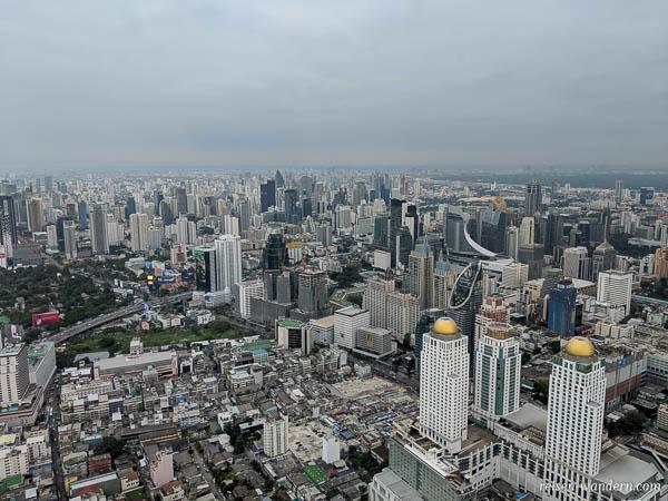 Bangkok am Tag von der Aussichtsplattform im Baiyoke Tower