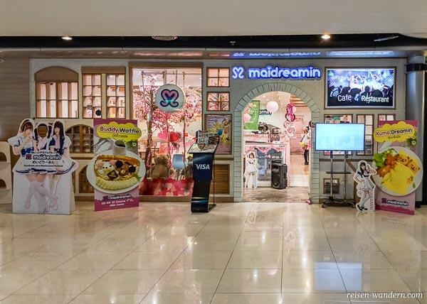 Maidreamin Cafe im MBK Kaufhaus in Bangkok