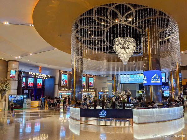 Kino im Siam Paragon in Bangkok
