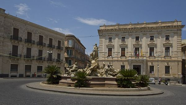 Fountain of Diana in Ortygia