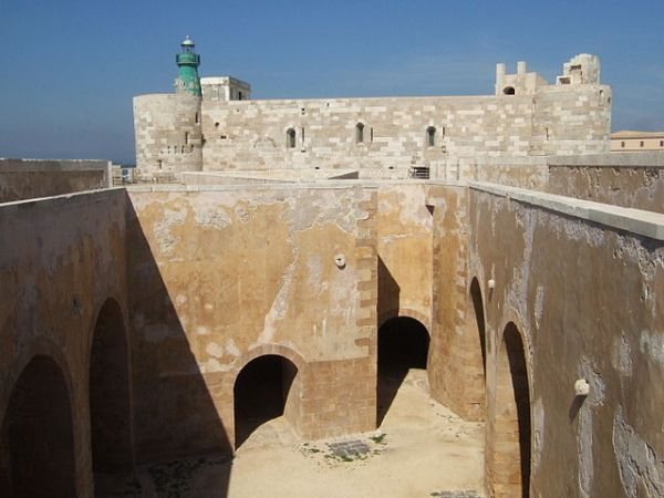 Castello Maniace die Festung von Syrakus