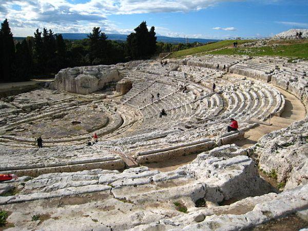 Parco Archeologico della Neapoli von Syrakus
