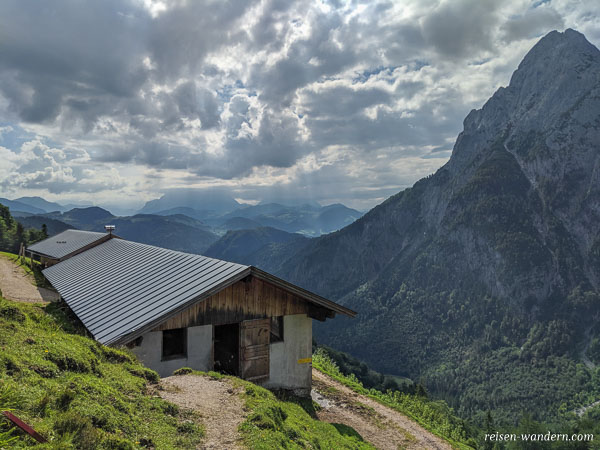 Hintere Ranggenalm im Kaisergebirge