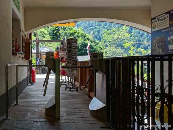 Eingang zur Seisenbergklamm