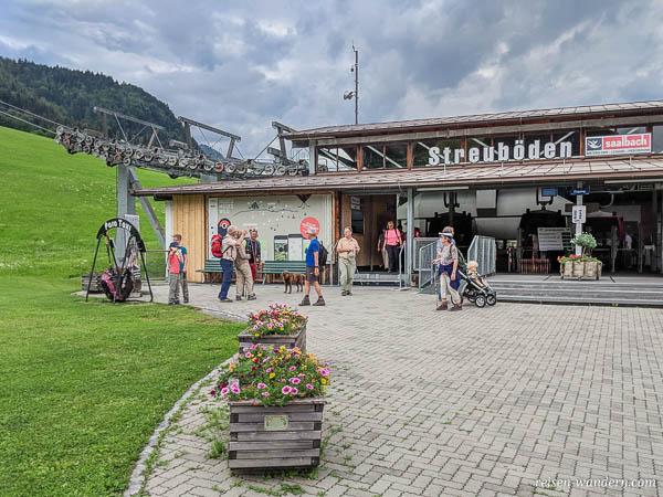Talstation der Bergbahnen Fieberbunn