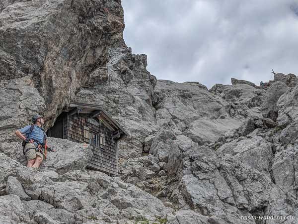 Schutzhütte Babenstuberhüttchen beim Ellmauer Halt