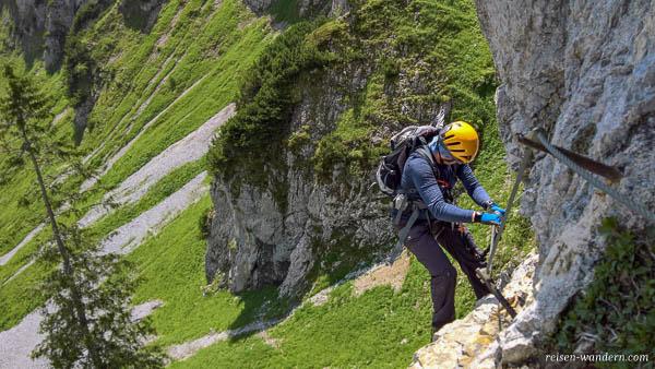 Klettersteig Wilder Kaiser : Highlight klamml klettersteig Übungsklettersteig beim wilden kaiser